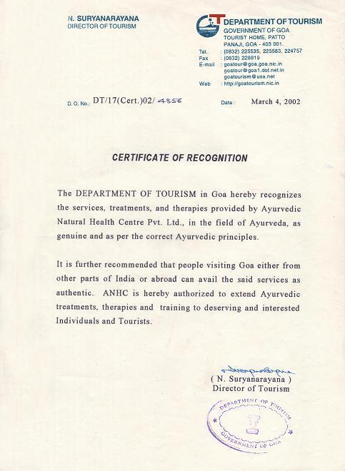 Holistic Treatment Centre Goa | Panchakarma Goa | Ayurveda India